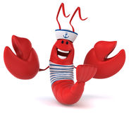 Fun lobster Stock Images