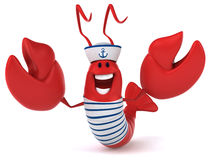 Fun lobster Royalty Free Stock Photos