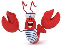 Fun lobster Royalty Free Stock Photos