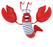 Fun lobster Stock Photography