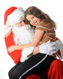 Fun Loving Santa Royalty Free Stock Photo