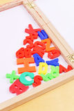 Fun Magnetic Letters Royalty Free Stock Images