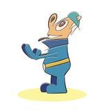 Fun man mascot character vector Stock Image