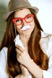 Fun with masks Stock Photos