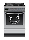 Fun modern stove kitchen appliance Stock Images