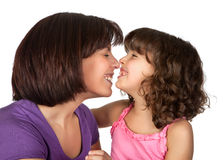 Fun with mommy Stock Images