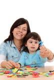 Fun with mother Stock Photos