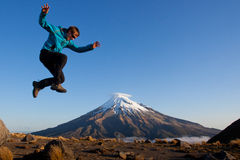 Fun in the mountains Royalty Free Stock Photography