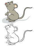 Fun mouse Royalty Free Stock Photos