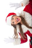 Fun Mrs Claus Stock Photo
