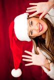 Fun Mrs Claus Stock Images