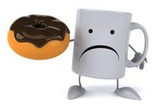 Fun mug Royalty Free Stock Photo