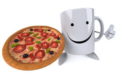 Fun mug Royalty Free Stock Photography