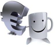 Fun mug Royalty Free Stock Image