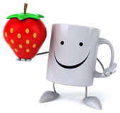 Fun mug Royalty Free Stock Photo