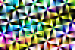 Fun multicolored abstract Stock Photography