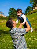 Fun in nature Royalty Free Stock Images