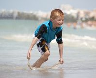 Fun in the ocean Stock Images