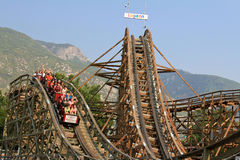 Fun On The Coaster Stock Images