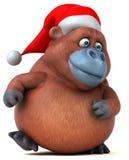 Fun Orangutan - 3D Illustration Royalty Free Stock Photos