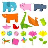 Fun origami Stock Photos