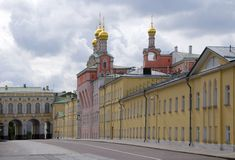 Fun Palace of the Moscow Kremlin Stock Photo