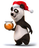 Fun panda Royalty Free Stock Images