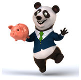 Fun panda Royalty Free Stock Photos