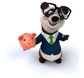 Fun panda Royalty Free Stock Photos