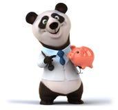 Fun panda Stock Photography