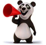 Fun panda. 3d generated illustration Royalty Free Stock Image