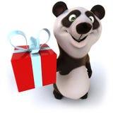 Fun panda. 3d generated illustration Royalty Free Stock Images