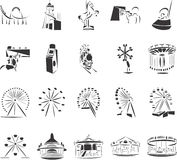 Fun Park. 20 themed EPS images related to fun park. The number of vector nodes is absolute minimum. The images are very easy to use and edit and are extremely stock illustration