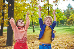 Fun in park royalty free stock photo