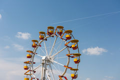 Fun Park Ferris Wheel Stock Image