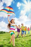 Fun in the park royalty free stock photo