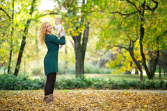 Fun in park Royalty Free Stock Photography