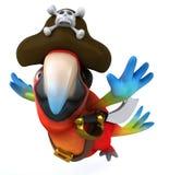 Fun parrot Royalty Free Stock Image