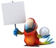Fun parrot Royalty Free Stock Photos