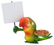Fun parrot Royalty Free Stock Photography