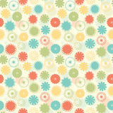 Fun pastel flowers Stock Photo