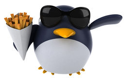 Fun penguin Royalty Free Stock Photo
