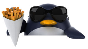 Fun penguin Stock Photo