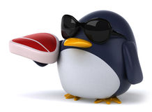 Fun penguin Royalty Free Stock Photography