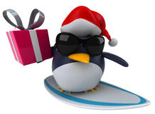 Fun penguin Royalty Free Stock Image
