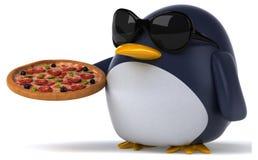 Fun penguin Stock Image