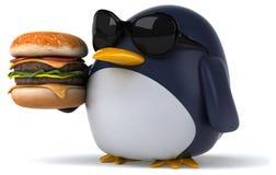 Fun penguin Stock Photography