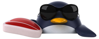 Fun penguin Stock Images