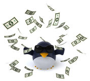 Fun penguin Stock Images