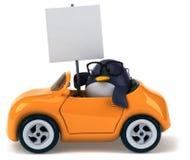 Fun penguin Stock Photo
